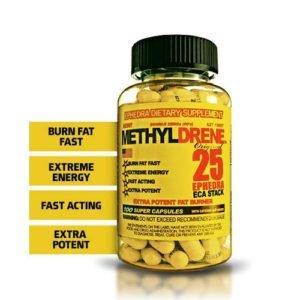 Cloma Pharma Methyldrene 25mg Fat Burner