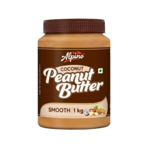 Alpino Coconut Peanut Butter Smooth 1Kg